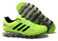 the latest e28bc afc0c Adidas Springblade Razor Shoes Lime Green Black