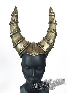 Gold Horned Headdres