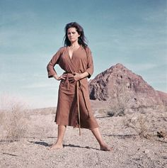 Claudia Cardinale in The professionals, 1966