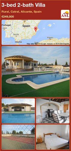 3-bed 2-bath Villa in Rural, Catral, Alicante, Spain ►€249,000 #PropertyForSaleInSpain