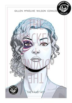 IMAGE COMICS Wicked & Divine Vol. 1: The Faust Act Exclusive Variant Graphic Novel (White)