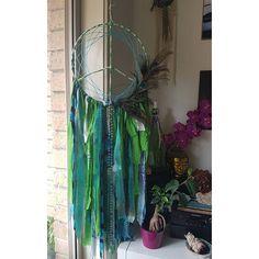 Peacock Peace Dream Catcher