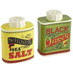 So smart of retailers bringing out merchandise that has the vintage look that so many of us can't get enough of. Vintage Design Salt