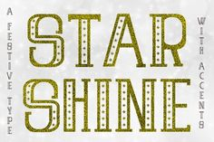 Star Shine (Font) by Illustrator Guru · Creative Fabrica Bold Fonts, New Fonts, Minimalist Poster Design, Christmas Fonts, Wedding Fonts, Premium Fonts, Glyphs, Cricut Design, Improve Yourself