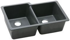 """Image for Elkay Quartz Classic 33"""" x 20-1/2"""" x 9-1/2"""" Double Bowl Undermount Sink from ELKAY"""