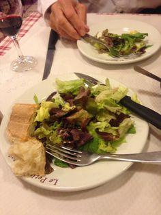 More delicious salad.