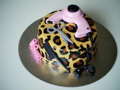 Hair Stylist Cake
