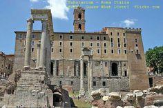 Tabularium - Roma Antiga