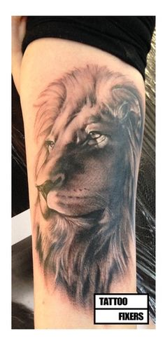 This cover up Jay done on Tattoo fixers got me thinking about my next piece #flawless #lion #inspired