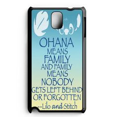 Ohana Means Samsung Galaxy Note 5 Case