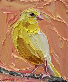 Featuring artwork by © Jodie Wells - Proud Canary | Anthea Polson Art Gallery Gold Coast QLD