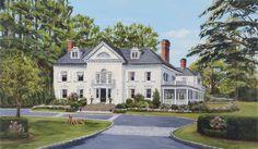 Home Portraits » Commissions | House Portraits