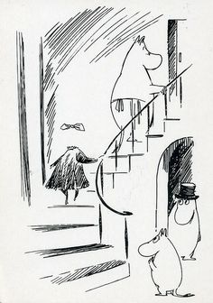 """""""The Invisible Child,"""" by Tove Jansson Finland Tove Jansson, Invisible Children, Moomin Valley, Cartoon Books, Les Oeuvres, Childrens Books, Cool Photos, Illustration Art, Character Design"""