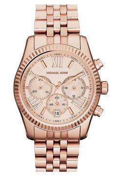 Michael Kors 'Lexington' Chronograph Bracelet Watch, 38mm available at #Nordstrom