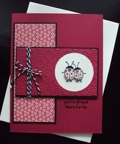 Stampin Up -  Love You Lots Card created by paperecstasy.blogspot.com