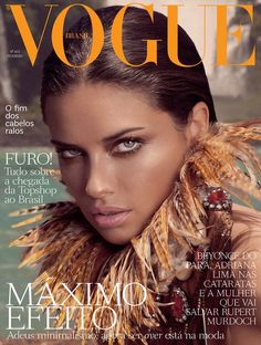 Vogue Brazil Adriana Lima February 2012