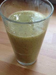 Uit mijn keukentje: Smoothie met bleekselderij en kiwi