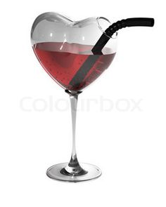 Nothing says I love you more than this heart shaped wine glass. Carafe, Wine Glass, Glass Art, Heart Images, Wine O Clock, In Vino Veritas, Wine Time, Holidays And Events, Wines