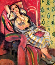 Odalisque / Henri Matisse - 1926