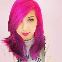 I want Yammy xox' hair so bad :O