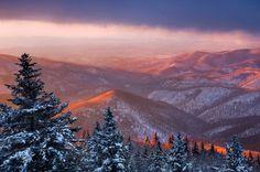 Cold Mountain Sunrise | Blue Ridge Parkway, North Carolina