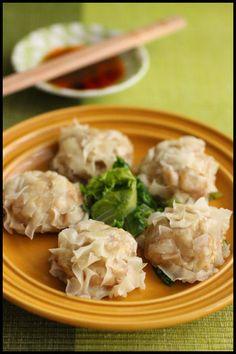 節約・レンジで簡単!ヘルシー豆腐シュウマイ : ビジュアル系フード