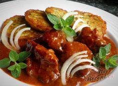 Czech Recipes, Ethnic Recipes, Ratatouille, Tandoori Chicken, Crockpot, Food And Drink, Tasty, Treats, Sweet