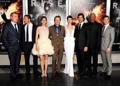 'The Dark Knight Rises' premiere in New York