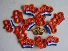 Crochet for the Dutch King's birthday