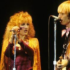the Golden Duo: Stevie ~ ☆♥❤♥☆ ~ and Tom Petty onstage