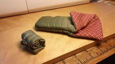 Miniature sleeping bags