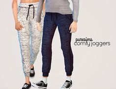 comfy joggersanother set of joggers because my sims have literally zero workout…