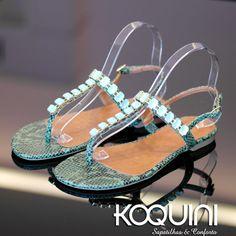Charmosa e fresquinha. Com toda certeza combina com você Compre Online: http://koqu.in/1Rl7VSD #koquini #sapatilhas #euquero #rasteirinha