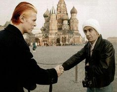 Iggy Pop  David Bowie  (Strange photo..:))