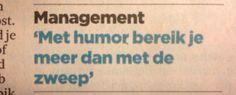 Maarten Hulshoff's tip! Waarheid als n koe!