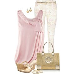 Solid Top & Printed Bottom 2, created by daiscat on Polyvore