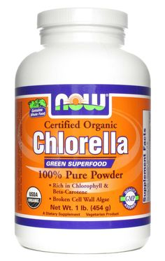Now Foods, Chlorella, 1 lb Powder