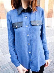 2013熱い販売長い袖ワイシャツ
