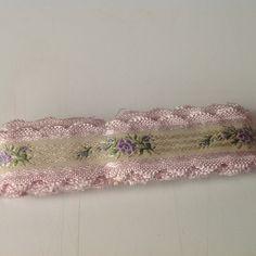 "Vintage Ribbon, trim, 90"" by Mywaycrochet on Etsy"