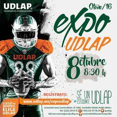 La #ExpoUDLAP está cada vez más cerca. No te pierdas la oportunidad de disfrutar de nuestro campus, sus actividades y sorpresas, este 8 de octubre. Aparta la fecha y regístrate en nuestra página para poder inscribirte a alguno de nuestros talleres y vivir la experiencia de ser un #EstudianteUDLAP: http://www.udlap.mx/expoudlap/  #Otoño2016 #Preparatoria