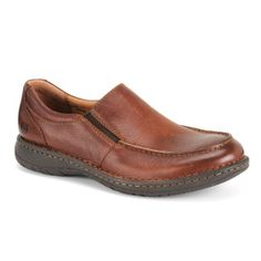 Born Sherman Brown Mens Loafers -  	     	              	Price: $  100.00             	View Available Sizes & Colors (Prices May Vary)        	Buy It Now      The Born Sherman men's casual is a good looking shoe that is bound to catch the attention of men. This men's casual comes with a leather upper. Interior comfort is...