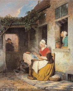 DE BRAEKELEER Ferdinand Le Vieux, 1792-1883 (Belgium)