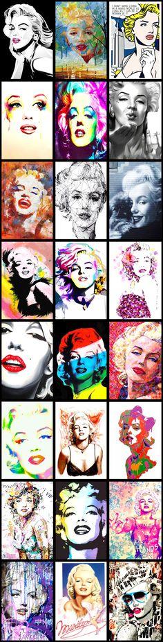 Marilyn Monroe Pop Art Collection ......
