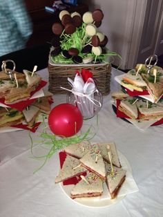 Party Clubsandwiches