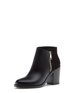 High heel ankle boots with zip detail - ALL - WOMAN | Stradivarius Hungary