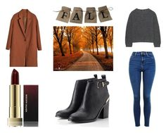 """""""Fall look 🍂"""" by yseultdel ❤ liked on Polyvore featuring Topshop, Lipsy, Uniqlo, Fall and look"""