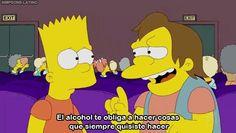 El alcohol te obliga a hacer cosas que siempre quisiste hacer