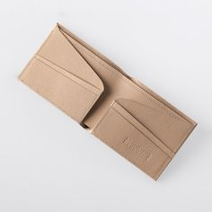 Minimalist Super-Thin Washable Paper Bi-Fold Wallet by SIDONIEYANG