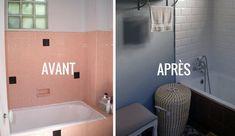 Avant Apres Renover Une Salle De Bains Dans Un Style Neo Retro