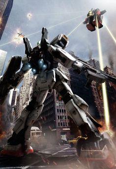 #Gundam RX-178 vs Psycho Gundam #Illustration